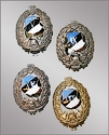 Estonian Fireman badges