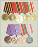 Medals of veterans WWII