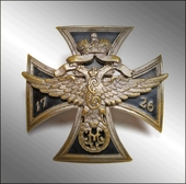 Badge of the Life Guards of the St. Petersburg Regiment