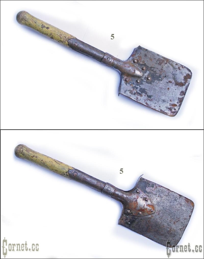 Sapper shovel of Lineman