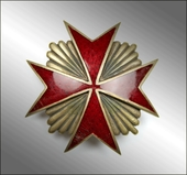 Badge of the Life-Guard Cossak Regiment of His Majesty