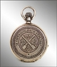 Prize-winning pocket watch for competitive firing in artillery