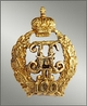 Miniature of a badge of the Pavlovsk military college.