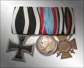 Awarding suspension WW1