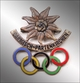 Badge IV of the winter Olympic Games of 1936.